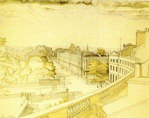 The Crescent, Portland Place, London, 1939